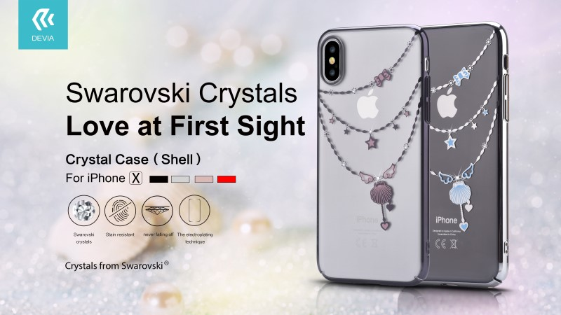 iPhone X/XS - Crystal Shell Case