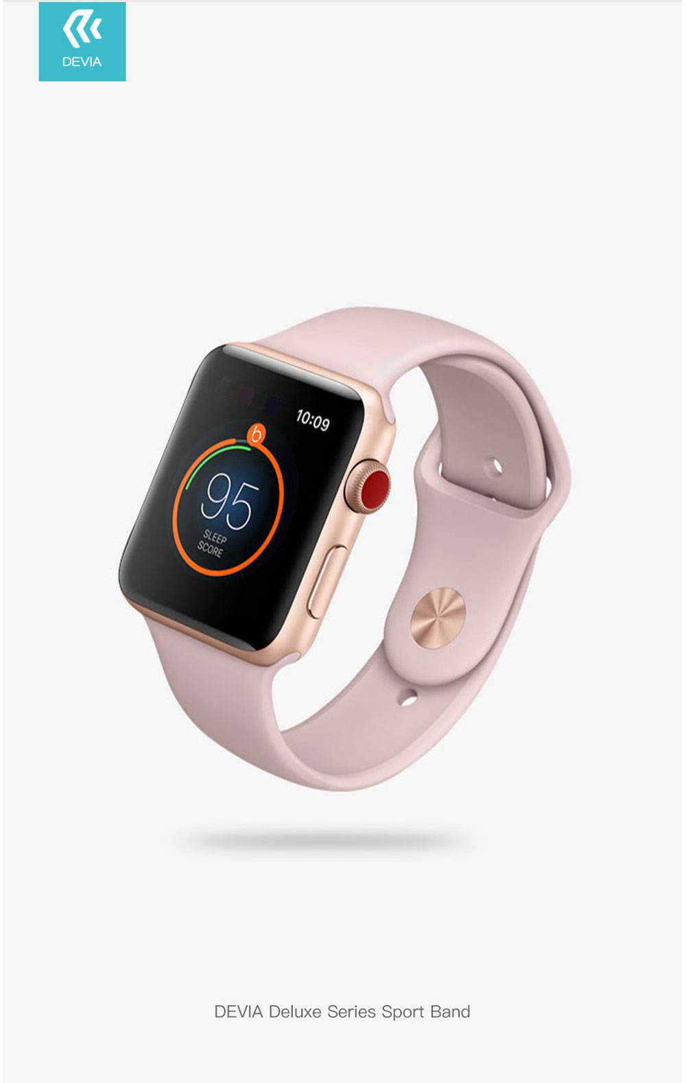 Durable and lightweight, the Devia Apple Watch Case in red made out of a strong yet soft to the touch TPU offers premium protection in a slim, stylish and colourful package.
