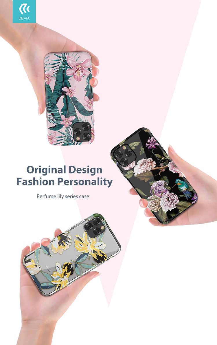 DEVIA iPhone 11 Pro - Perfume lily Series Case