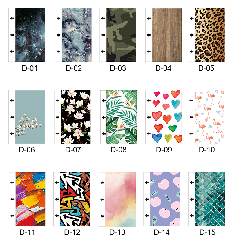 The Intelligent Colorful Back Film Flexible production creates new retail business opportunities,One time to purchase, long life benefit, Don't need to stock up