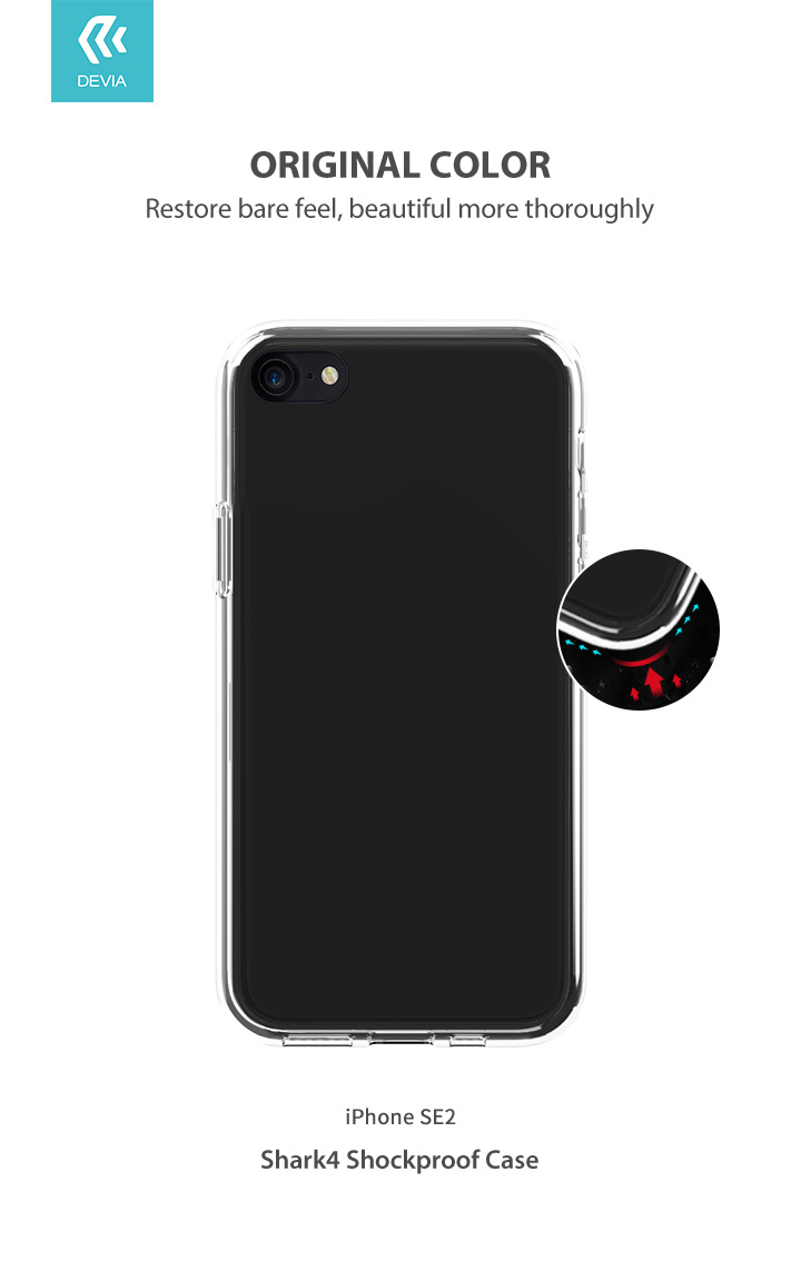 iPhone SE 2 Shark4 Shockproof Case, It Protects your device from any damage and has Anti-Scratch and Strong anti-falling protection