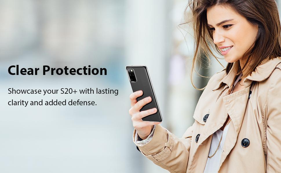 Shockproof TPU Case Samsung Galaxy S20 Plus