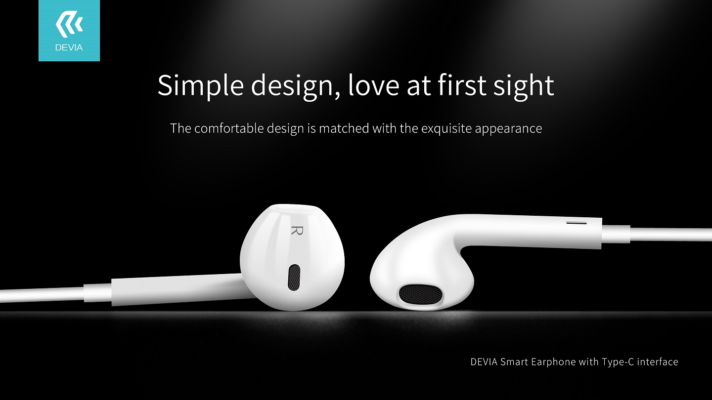 The ultra lightweight Smart Earphone With Type C Interface, Remote and Mic feature with noise reduction will allow you to flow in your world of music