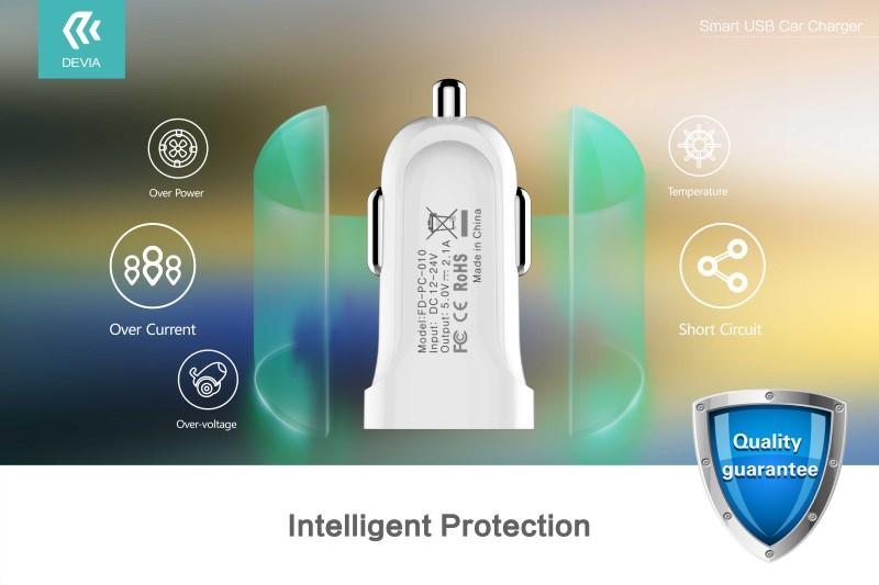 DEVIA Smart USB Car Charger