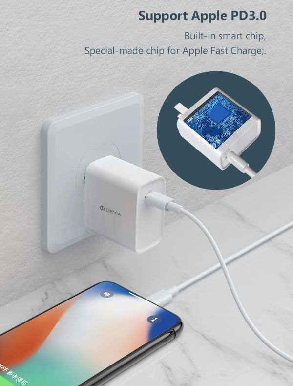 Smart Series PD Quick Wall Charger USB Type C ⚡ 20W