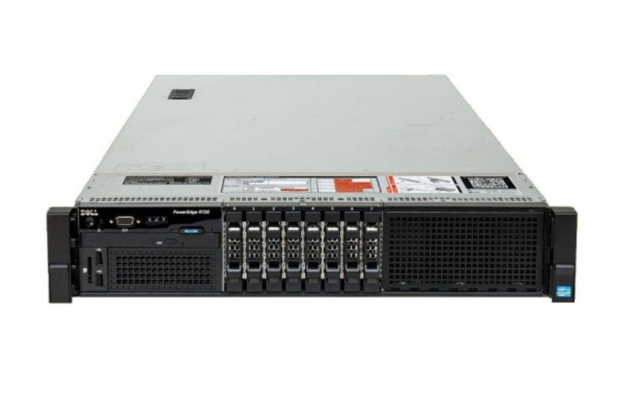 Dell PowerEdge R720 Server, 2x Intel Xeon E5-2630 HexaCore CPUs, 8-Bay