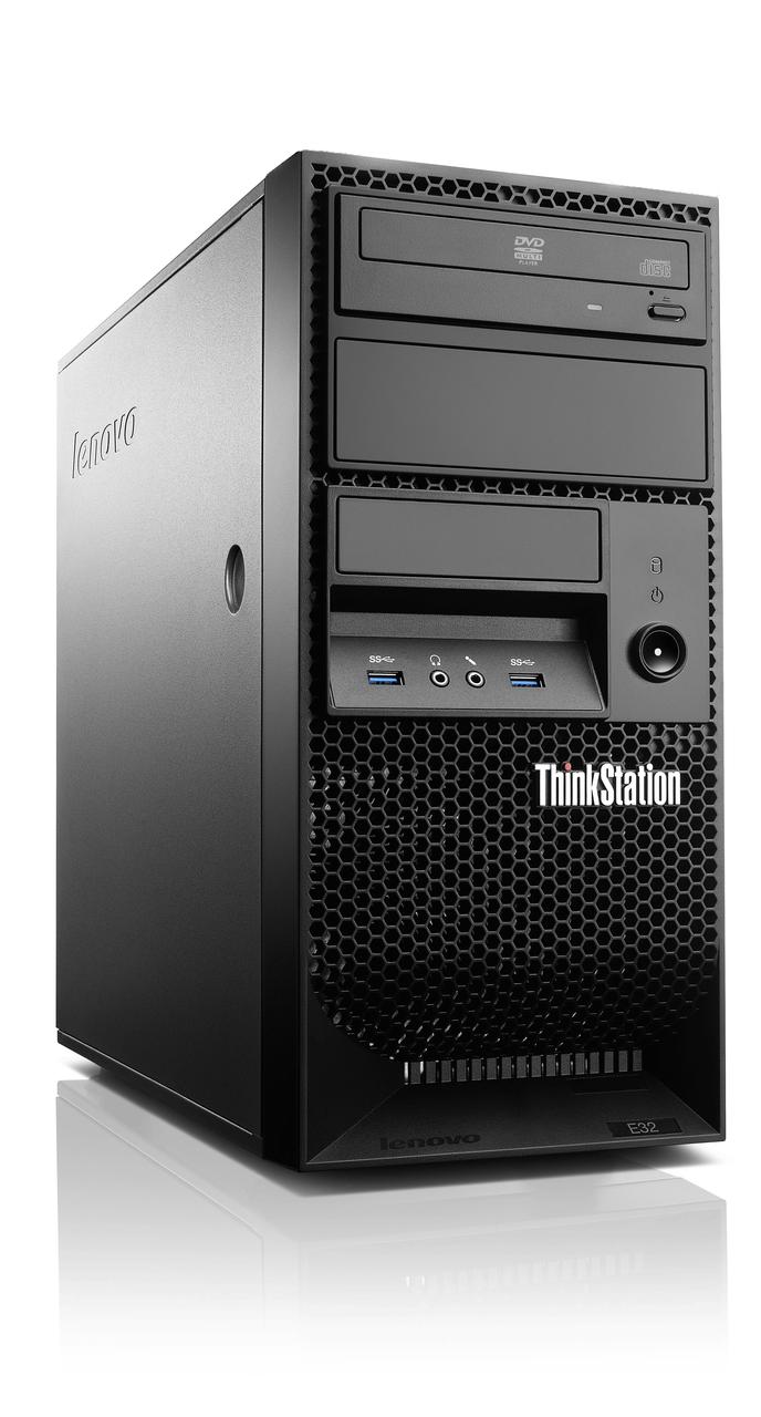 Gaming -Lenovo ThinkStation E32, Xeon CPU, 32GB RAM, 256 SSD + 2x 1TB HDDs,  1 Yr Wty