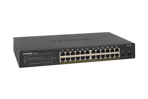 Netgear GS324TP S350 24-Port Gigabit PoE+ Smart Managed Pro Switch w/ 2-Port SFP | Recompute | Accessories | Gigabit Switch | Networking