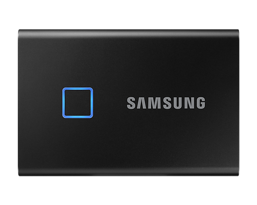 Samsung T7 Touch 1TB USB 3.2 Portable SSD - Black | Recompute | Accessories | Storage | SSD