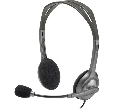 Logitech H110 Stereo Headset | Recompute