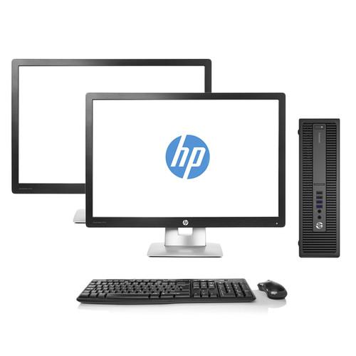 HP EliteDesk 800 G2 Dual Monitor Package | Recompute