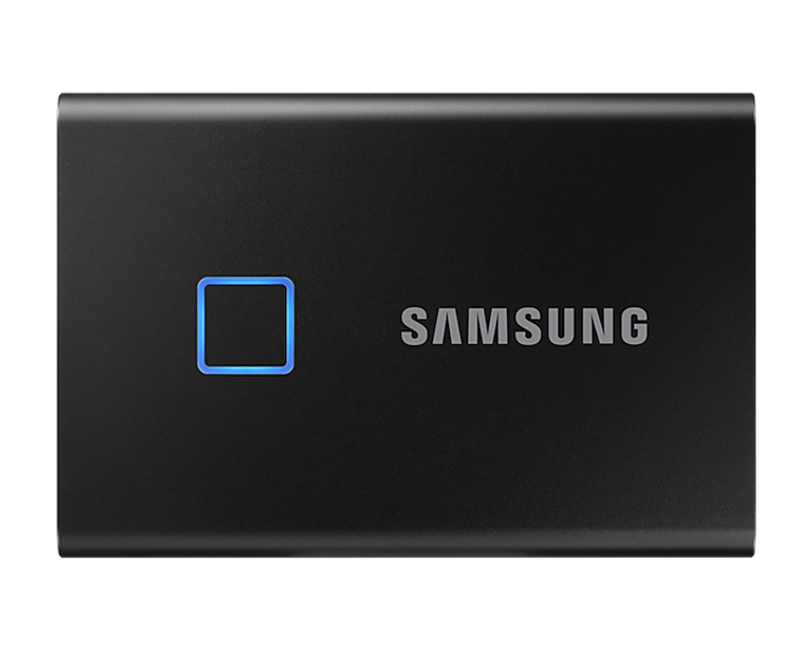 Samsung T7 Touch 500GB USB 3.2 Portable SSD - Black   Recompute   Accessories   Storage   SSD