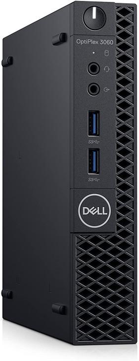 Dell OptiPlex 3060 Micro Desktop - Intel Core i7-8700T, 16GB RAM, 256GB SSD