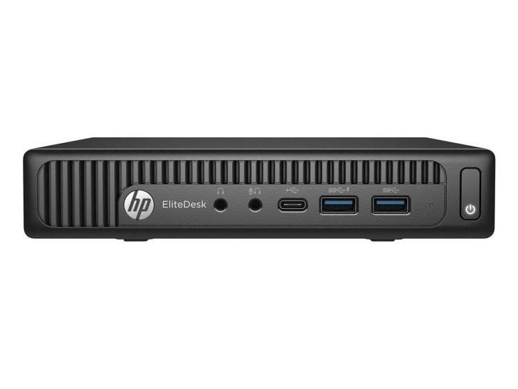 HP Elitedesk 800 G2 Mini Desktop - Core i5-6500T, 8 GB RAM, 256 GB SSD | Recompute