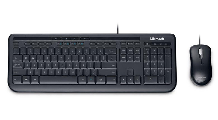 Microsoft Wired 600 Desktop Keyboard and Mouse   Recompute   Accessories   Keyboard and Mouse