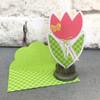 Shaped Card Flower 2