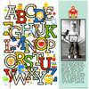 School Days - Alphabet Background
