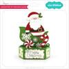 Hexagon Pop Up Card Santa Sleigh