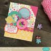 Shaker Card Scalloped Circles