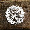 Happy Mothers Day Papercut