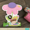 Flower Shaped Mother's Day Card