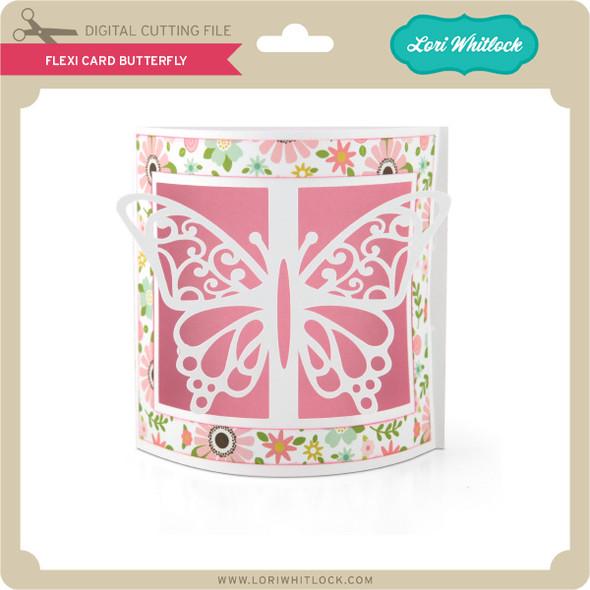 Flexi Card Butterfly