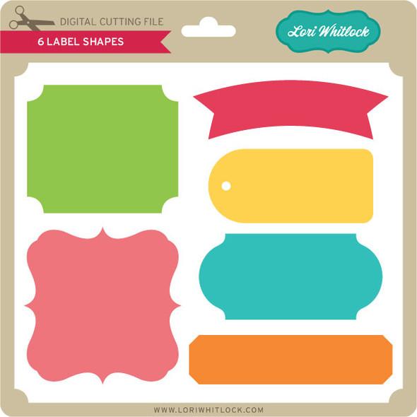6 Label Shapes