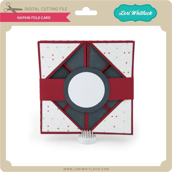 Napkin Fold Card 2