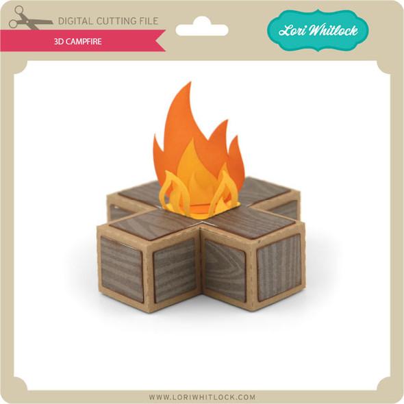 3D Campfire