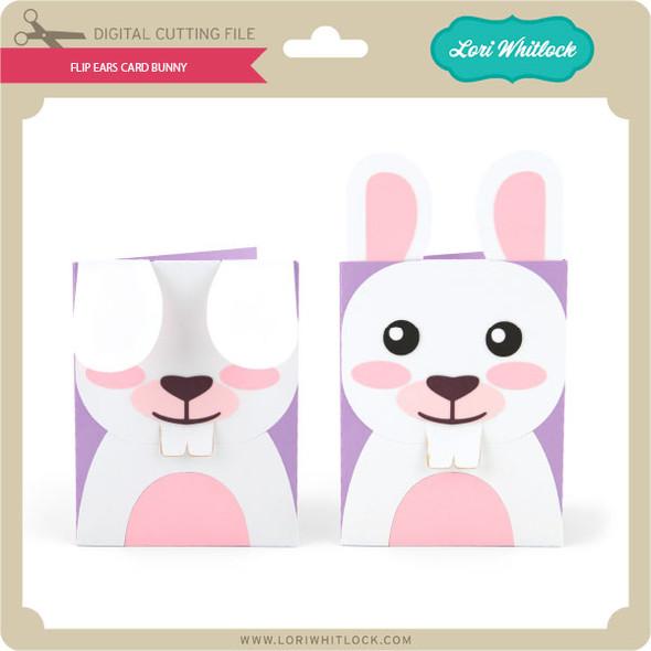 Flip Ears Card Bunny