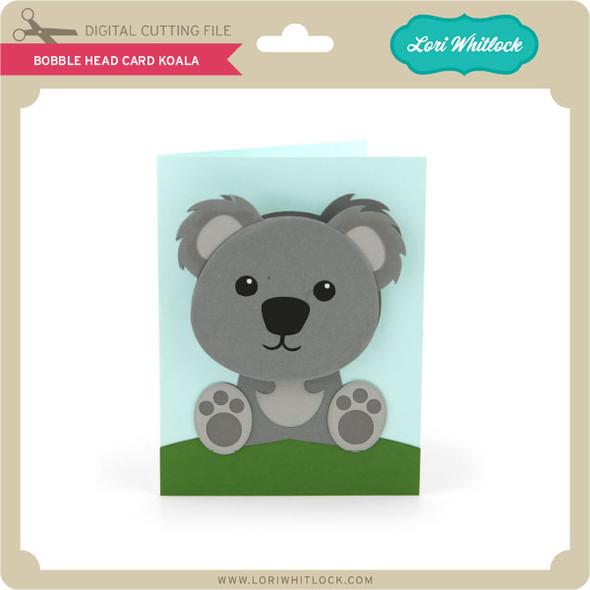 Bobble Head Card Koala