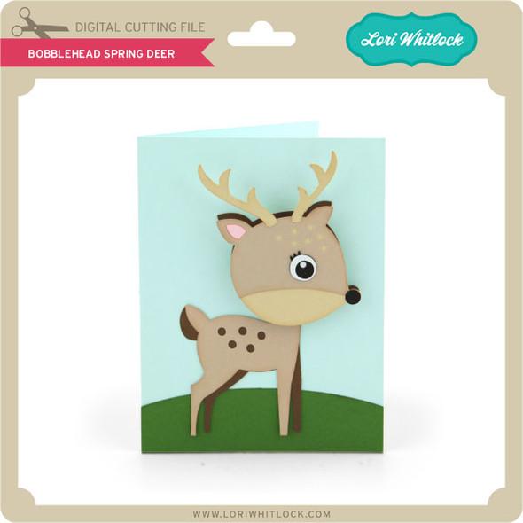 Bobblehead Spring Deer