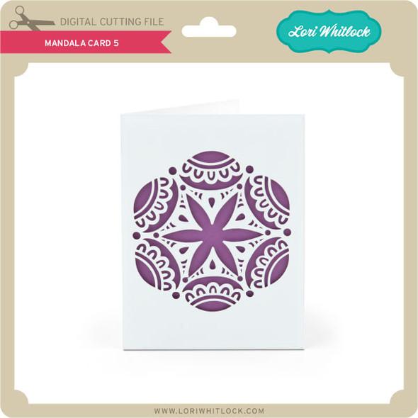 Mandala Card 5