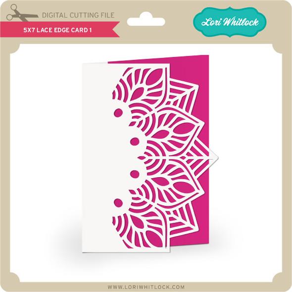 5x7 Lace Edge Card 1