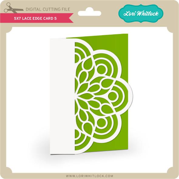 5x7 Lace Edge Card 5