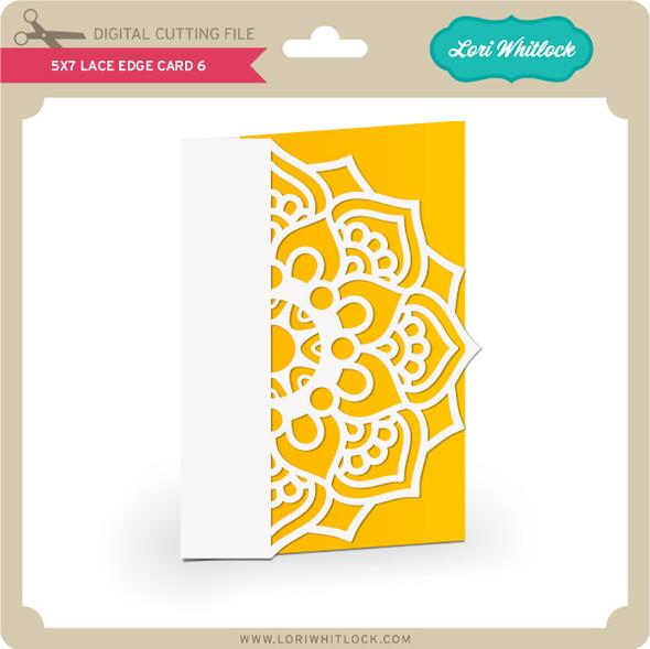5x7 Lace Edge Card 6