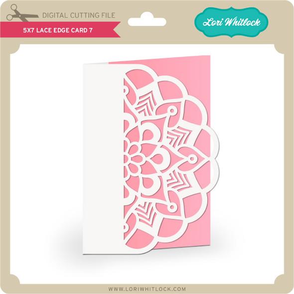 5x7 Lace Edge Card 7