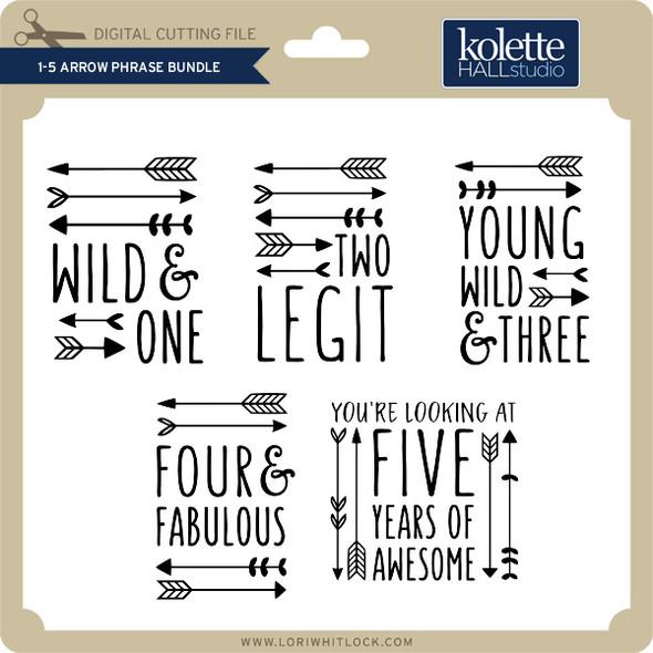 1-5 Arrow Phrase Bundle