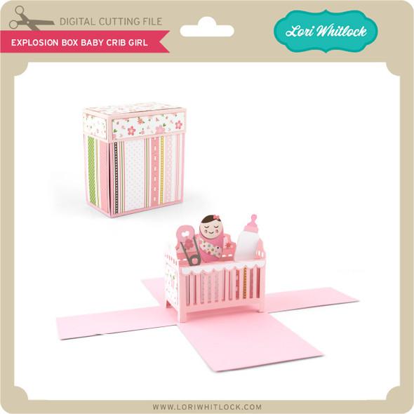 Explosion Box Baby Crib Girl
