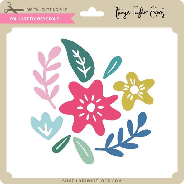 Folk Art Flower Group