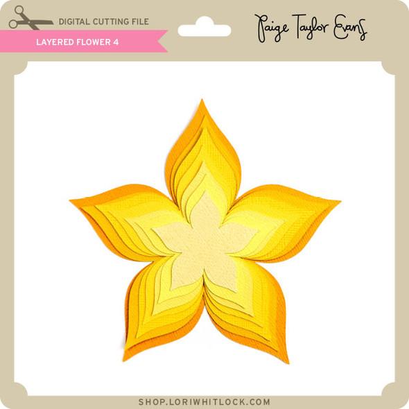 Layered Flower 4