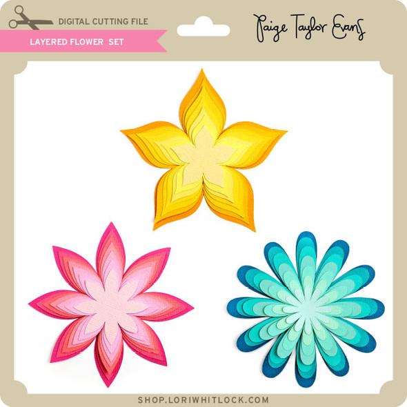 Layered Flower Set