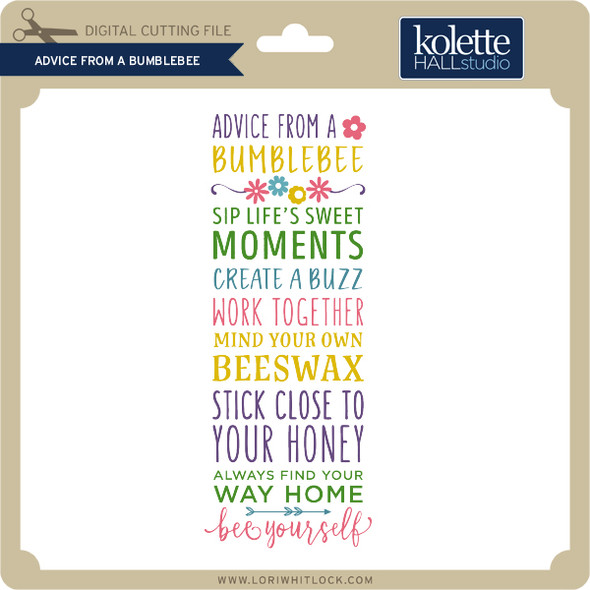 Advice From a Bumblebee