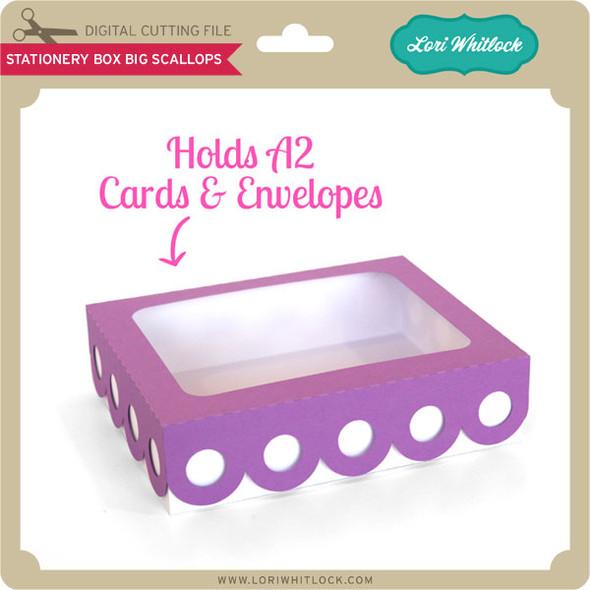 Stationery Box Big Scallops