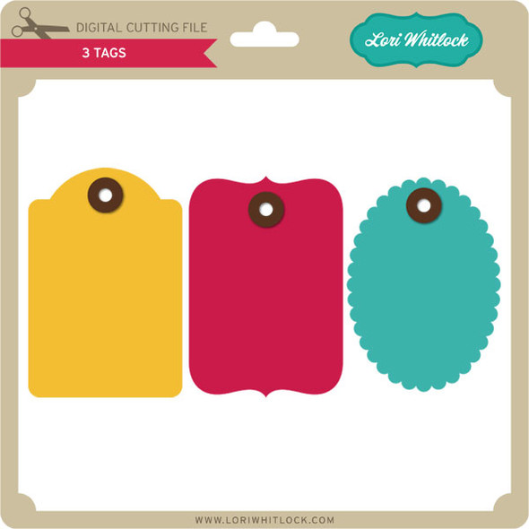 3 Tags PNG and SVG