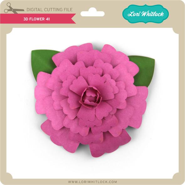 3D Flower 41