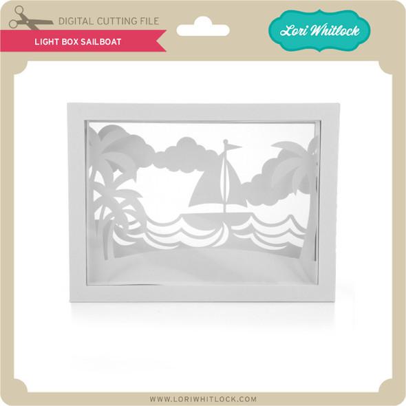Light Box Sailboat