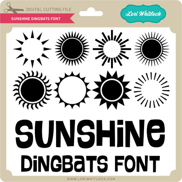 Sunshine Dingbats Font