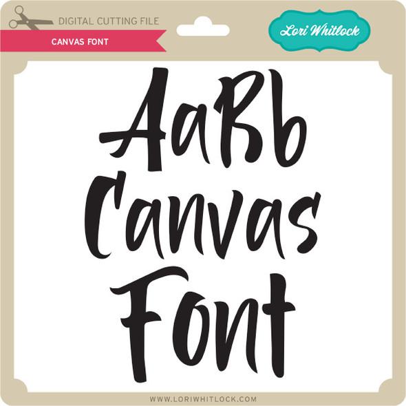 Canvas Font