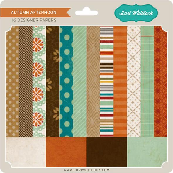 Pattern Fill Set Autumn Afternoon